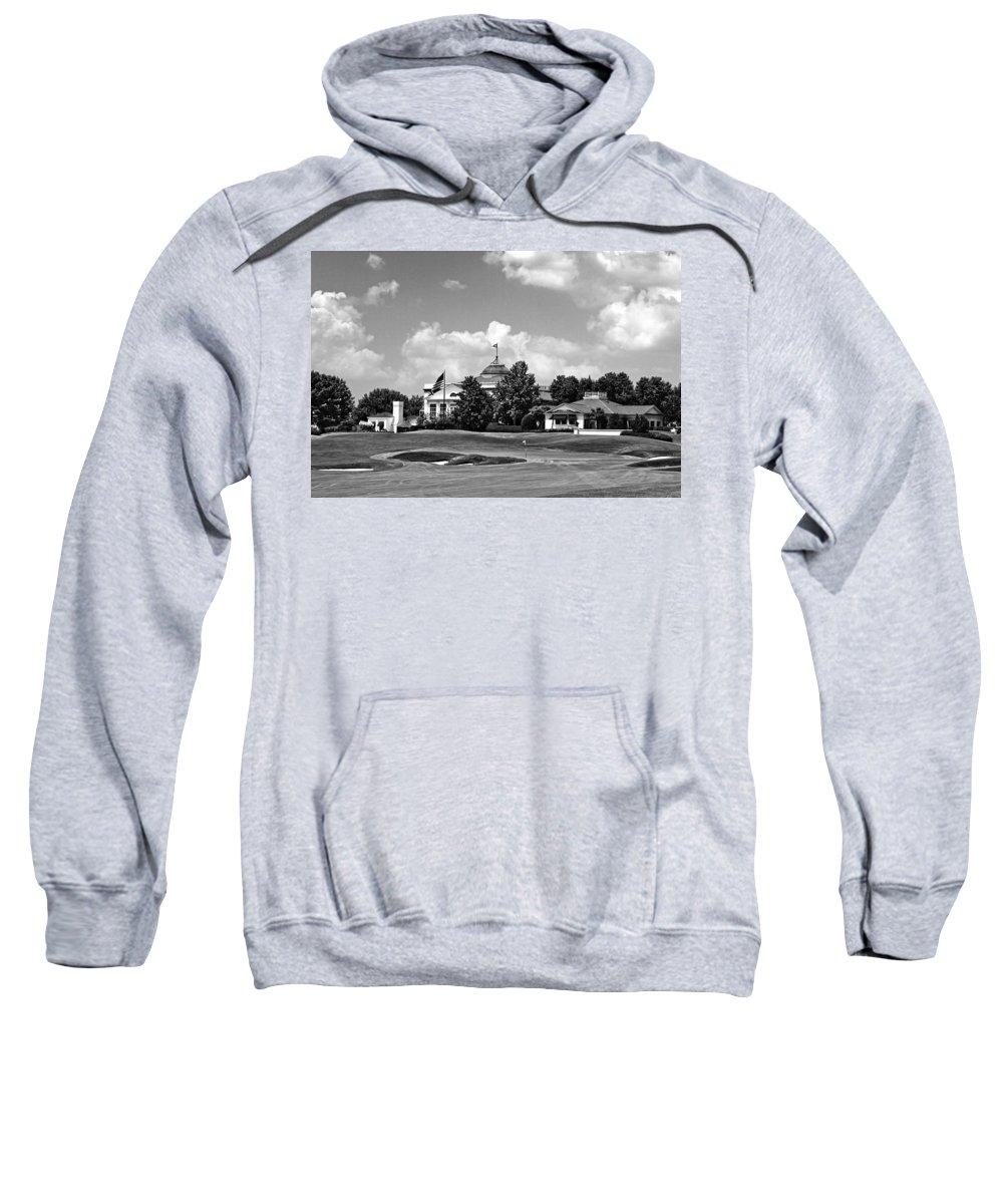 Golf Course Sweatshirt featuring the photograph Sucker Pin by Scott Pellegrin