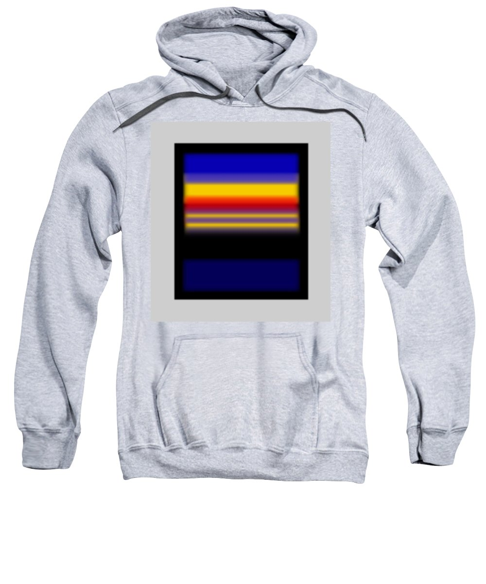 Rothko Sweatshirt featuring the painting Sunset by Charles Stuart