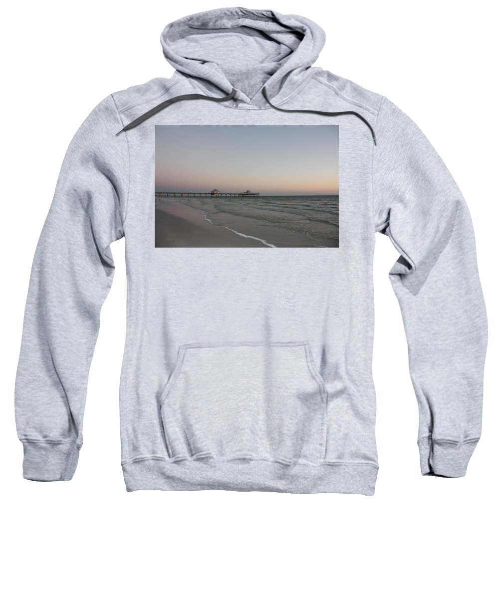 Scenic Sweatshirt featuring the photograph Sunset Over Gulf Of Mexico 4 by Erin Rosenblum