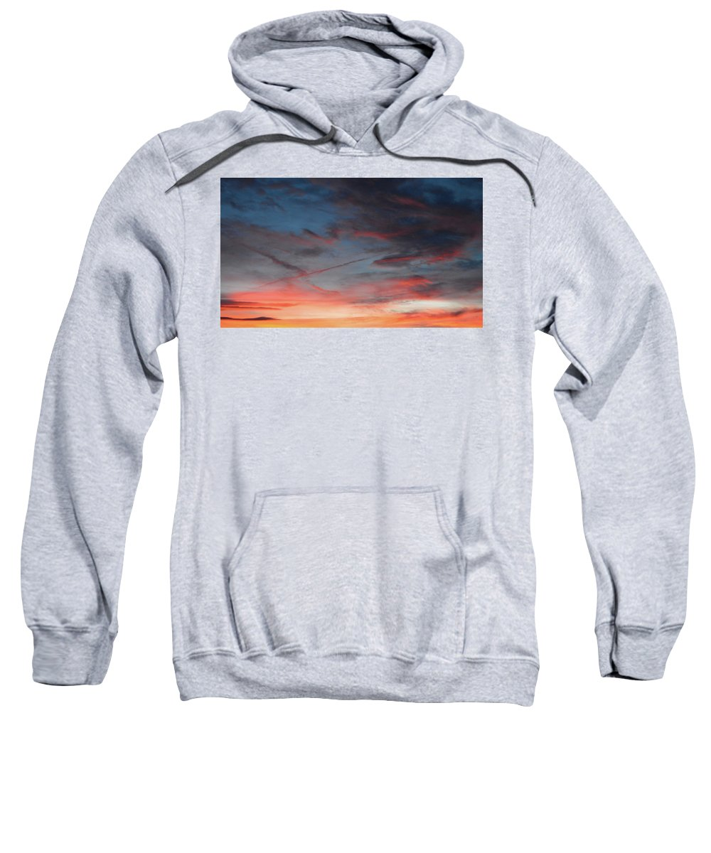 Photo Sweatshirt featuring the photograph Sunset by William Pullaro Jr