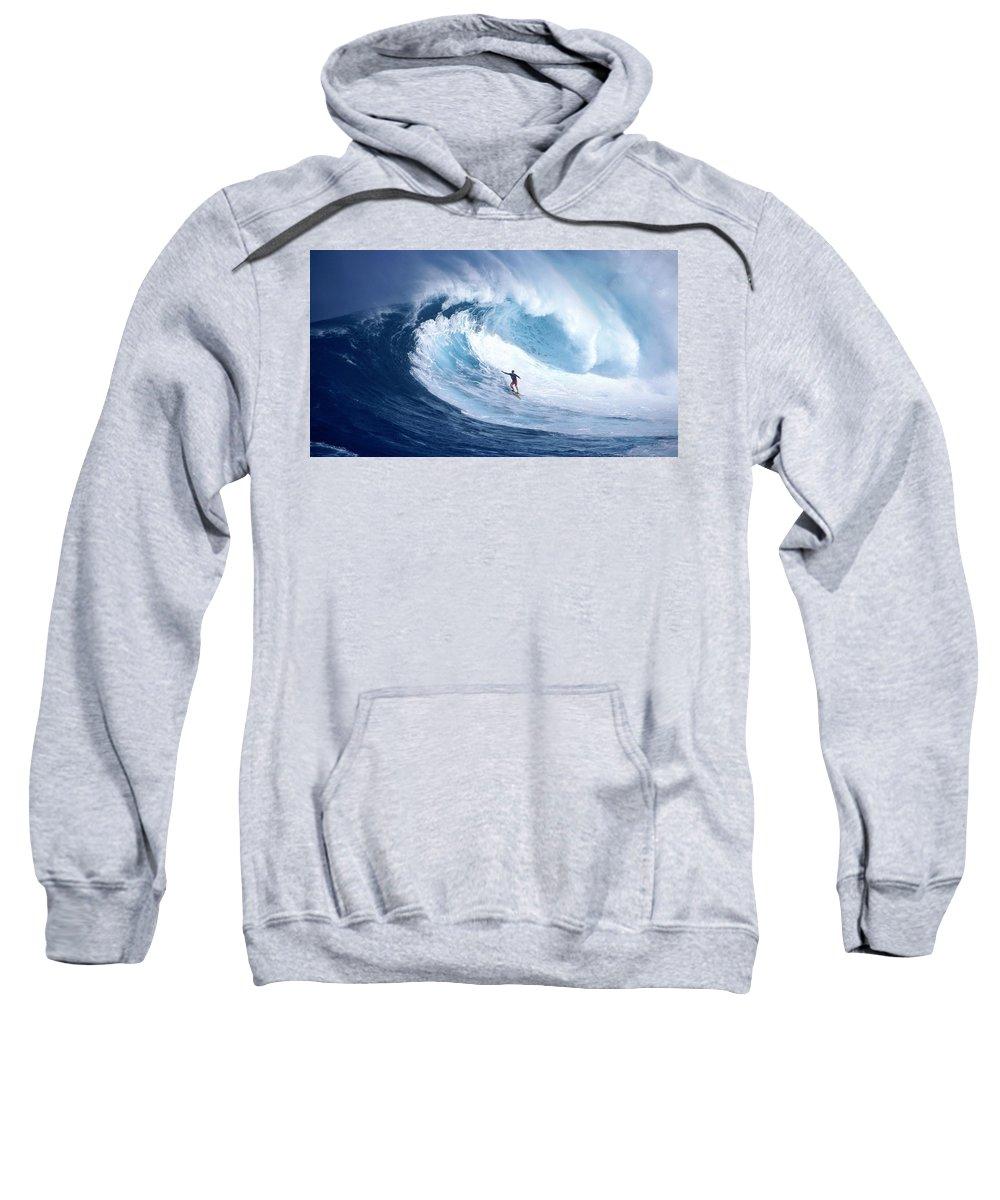 Surfing Sweatshirt featuring the digital art Surfing by Bert Mailer