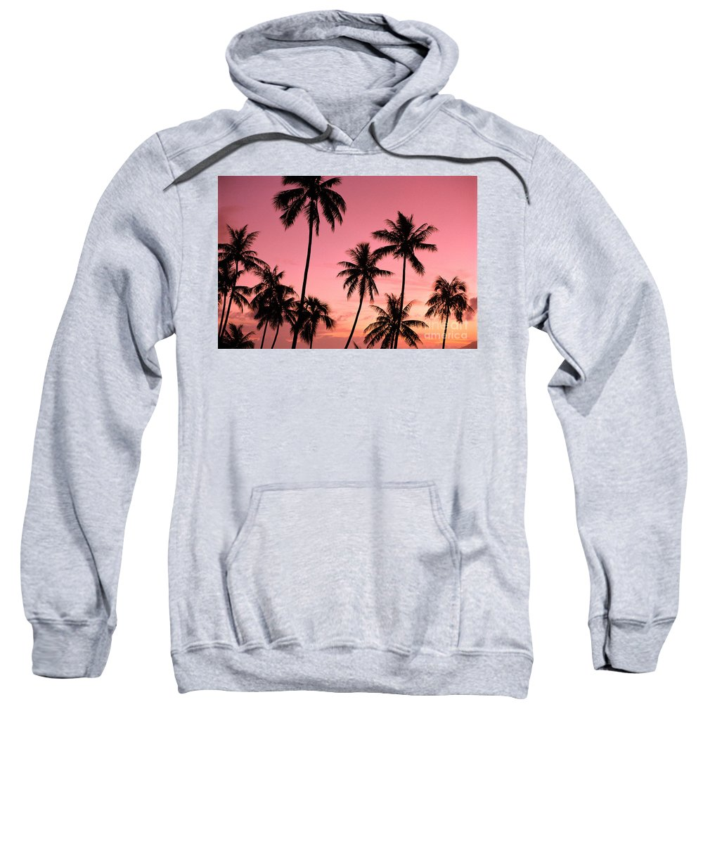 Beautiful Sweatshirt featuring the photograph Tahiti, Papeete by Joe Carini - Printscapes