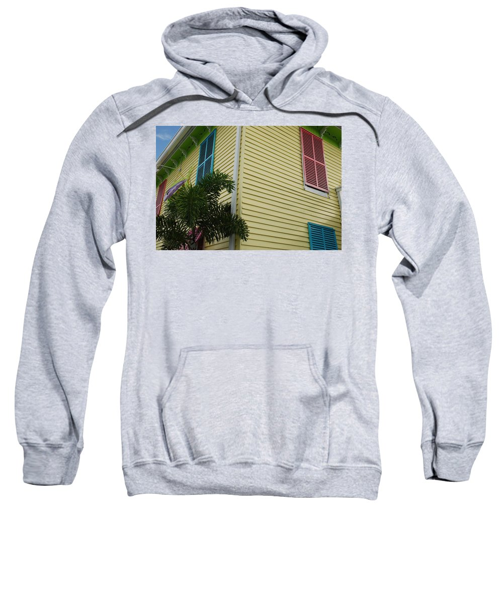 Architecture Sweatshirt featuring the photograph The Beach House by Rob Hans