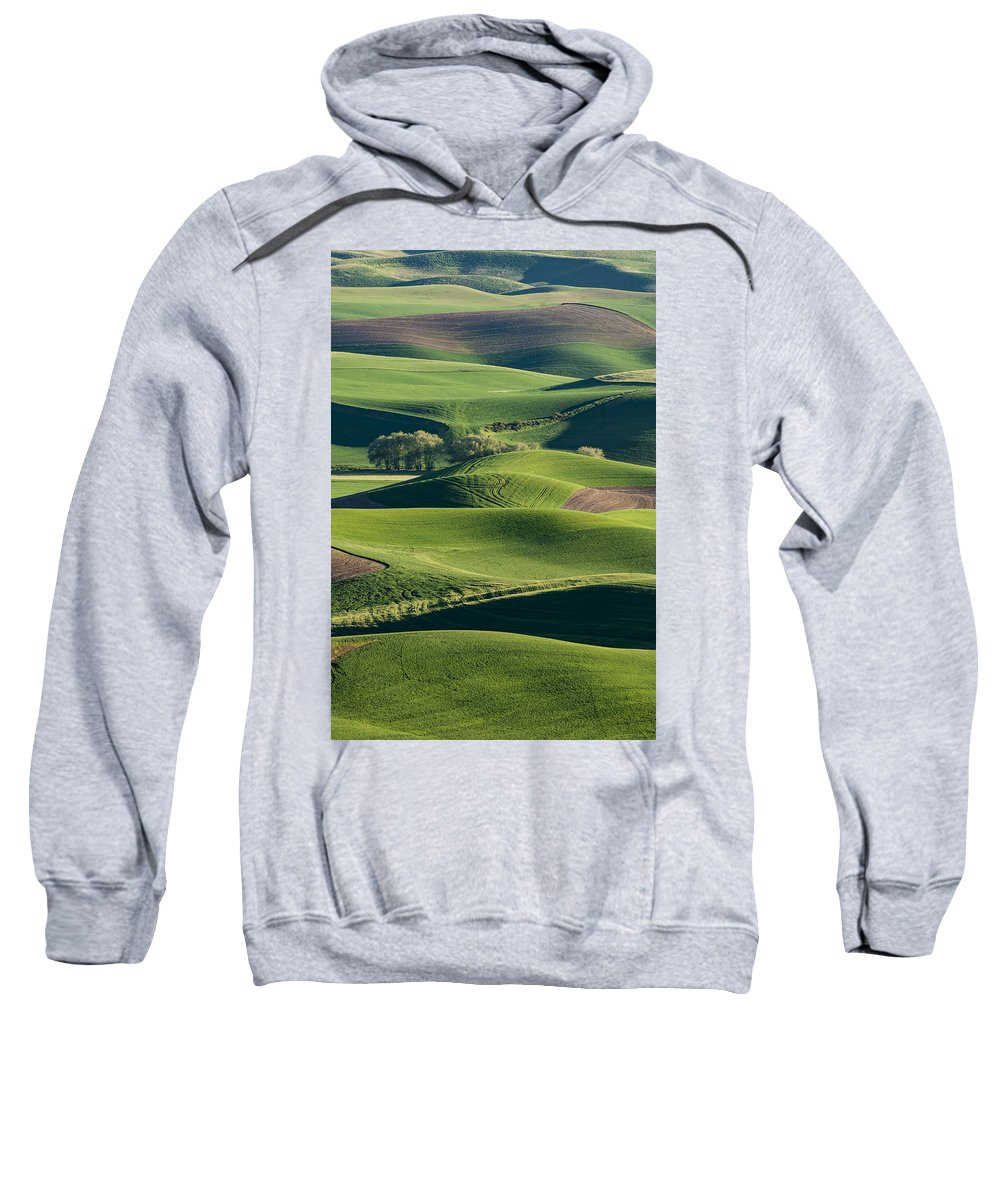 Palouse Sweatshirt featuring the photograph The Palouse #2 by Rick Wong