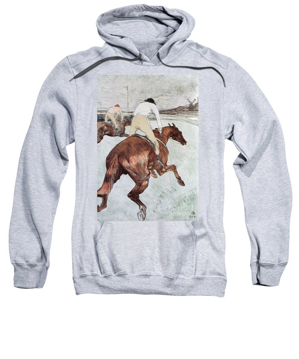 1899 Sweatshirt featuring the photograph Toulouse-lautrec, 1899 by Granger