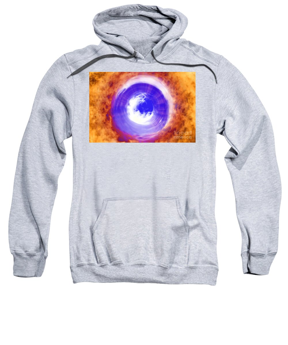 Power Sweatshirt featuring the digital art Transformation by Richard Rizzo