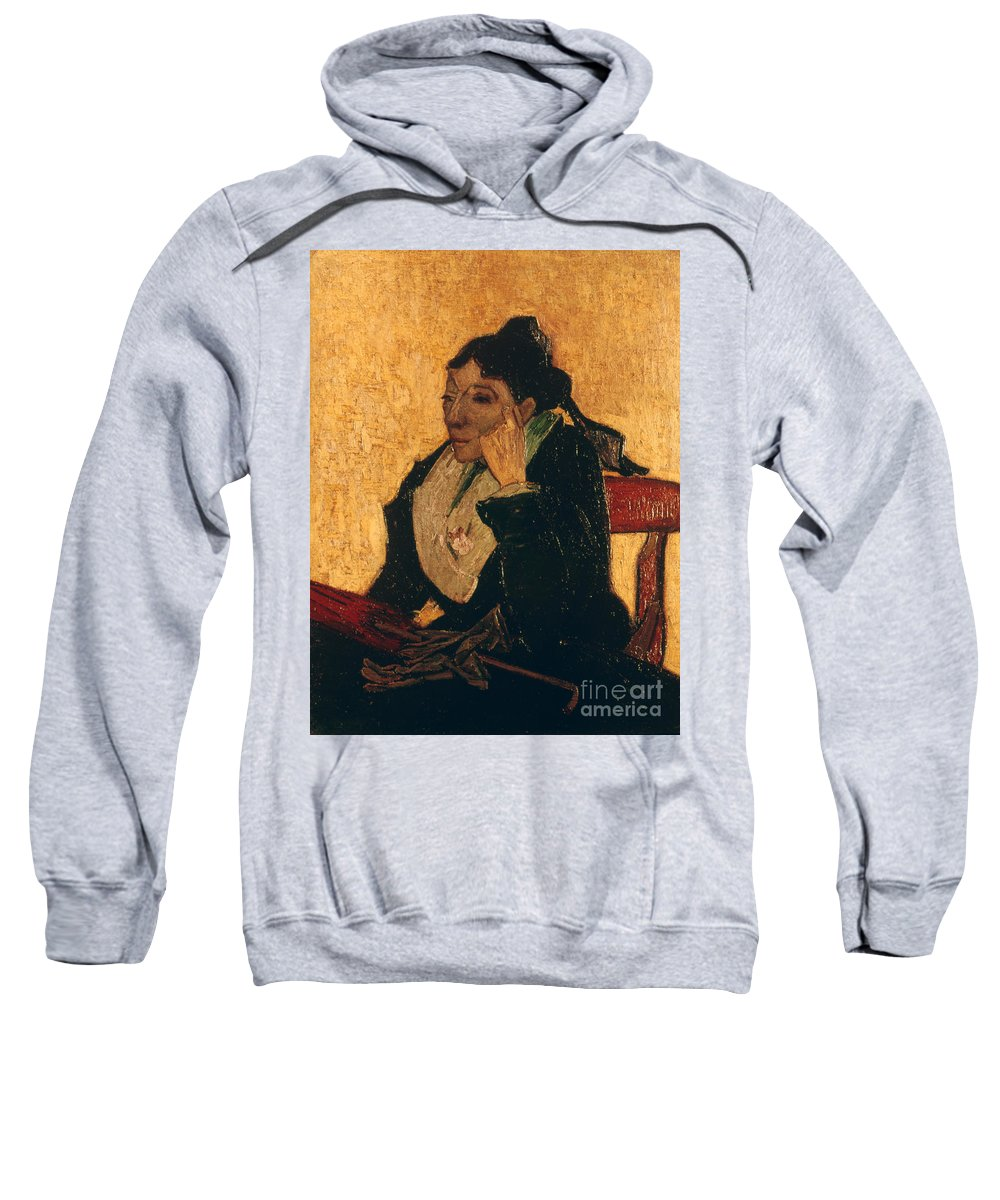 1888 Sweatshirt featuring the photograph Van Gogh: Larlesienne, 1888 by Granger
