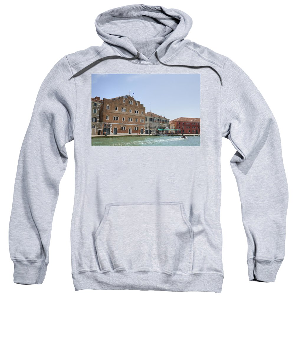 Venice Sweatshirt featuring the photograph Venice Italy by Ian Middleton