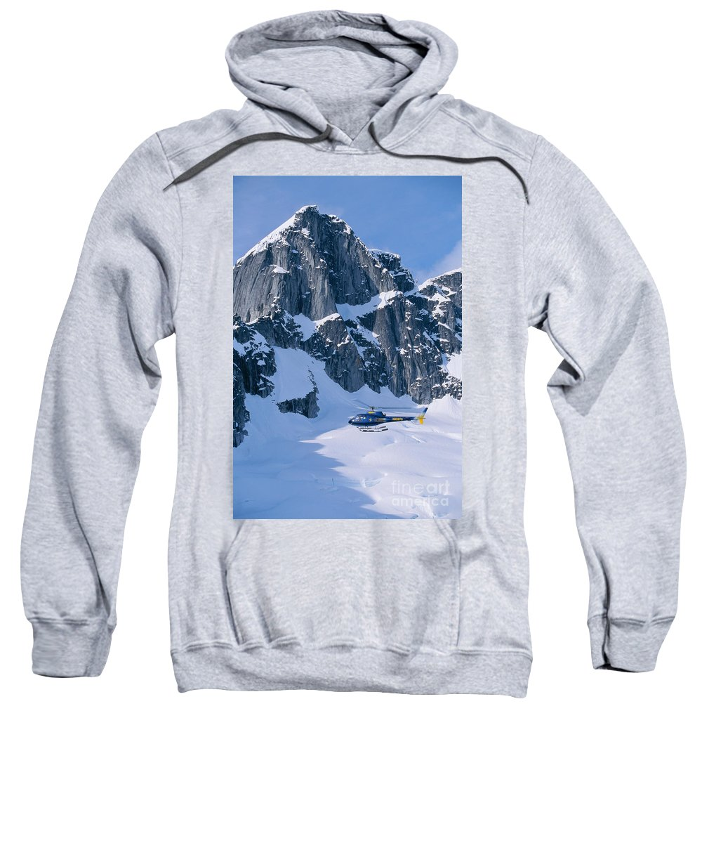 Adventure Sweatshirt featuring the photograph View Of Alaska by John Hyde - Printscapes