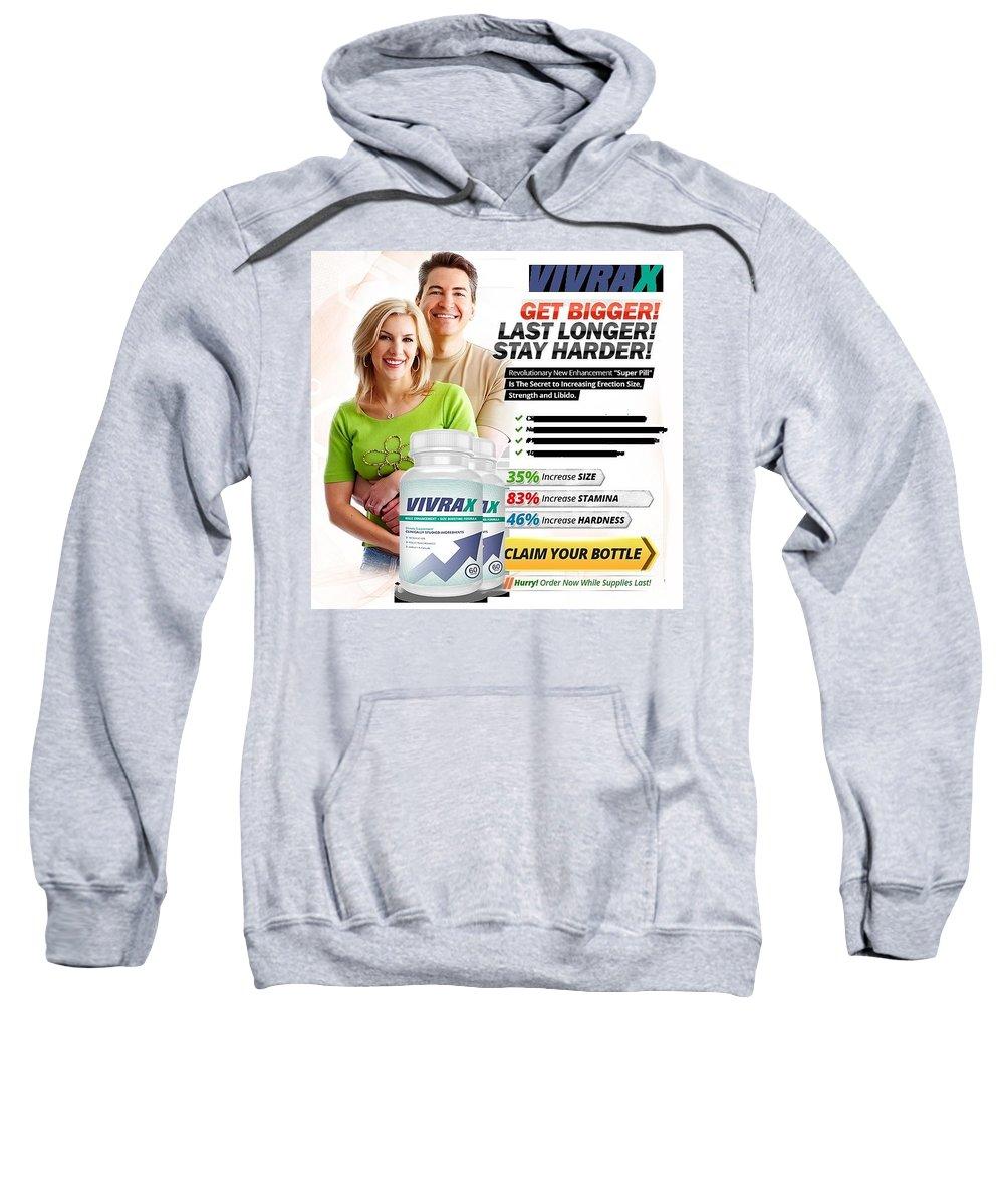 Vivrax Sweatshirt featuring the digital art Vivrax by Vivrax