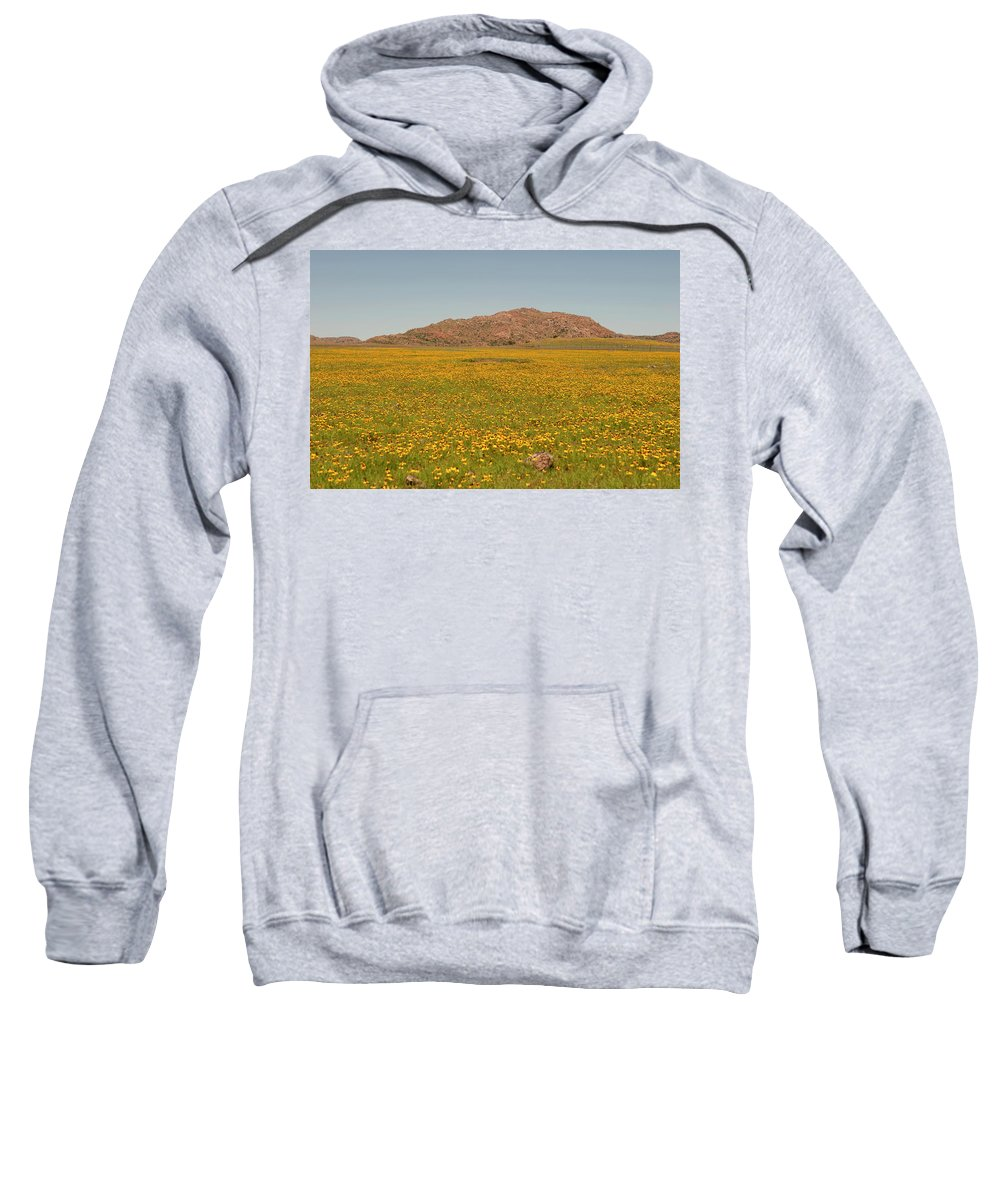 Adventure Sweatshirt featuring the photograph What A View by Malania Hammer