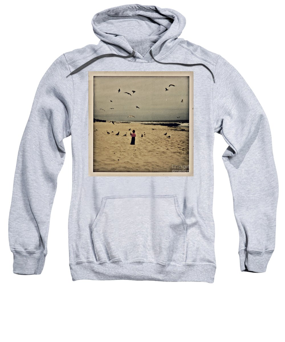 Ocean Sweatshirt featuring the photograph When Promises Were For Keeps by Dana DiPasquale