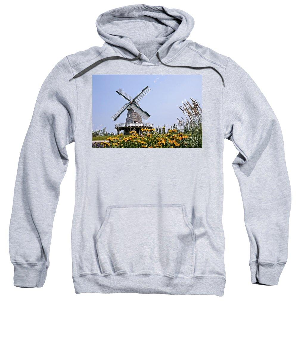 Windmill Sweatshirt featuring the photograph Windmill by Teresa Zieba