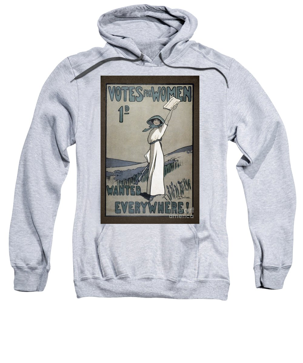 1907 Sweatshirt featuring the photograph Womens Rights by Granger
