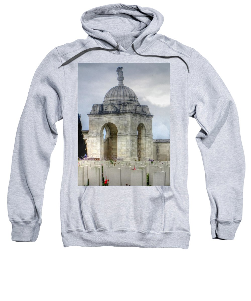 Flanders Fields Belgium Sweatshirt featuring the photograph Flanders Fields Belgium by Paul James Bannerman