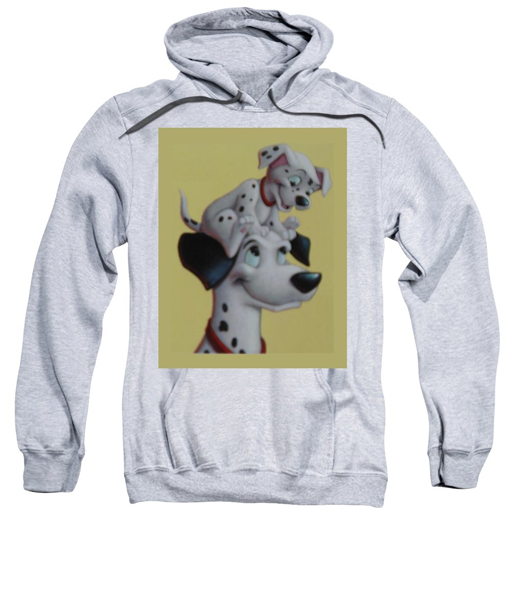 Disney Sweatshirt featuring the photograph 101 by Rob Hans