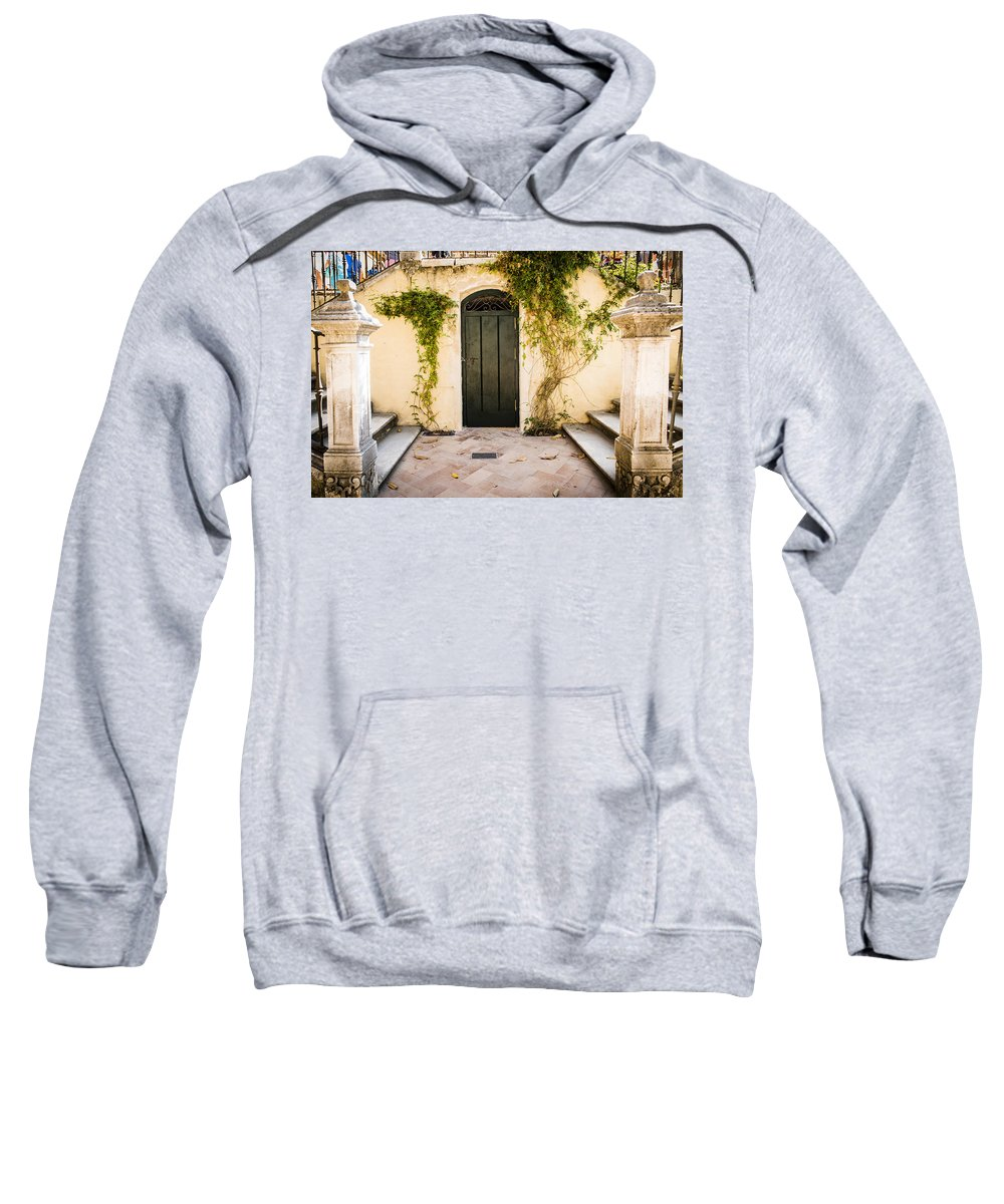 Alcazar Sweatshirt featuring the photograph Alcazar Of Seville - Seville Spain by Jon Berghoff