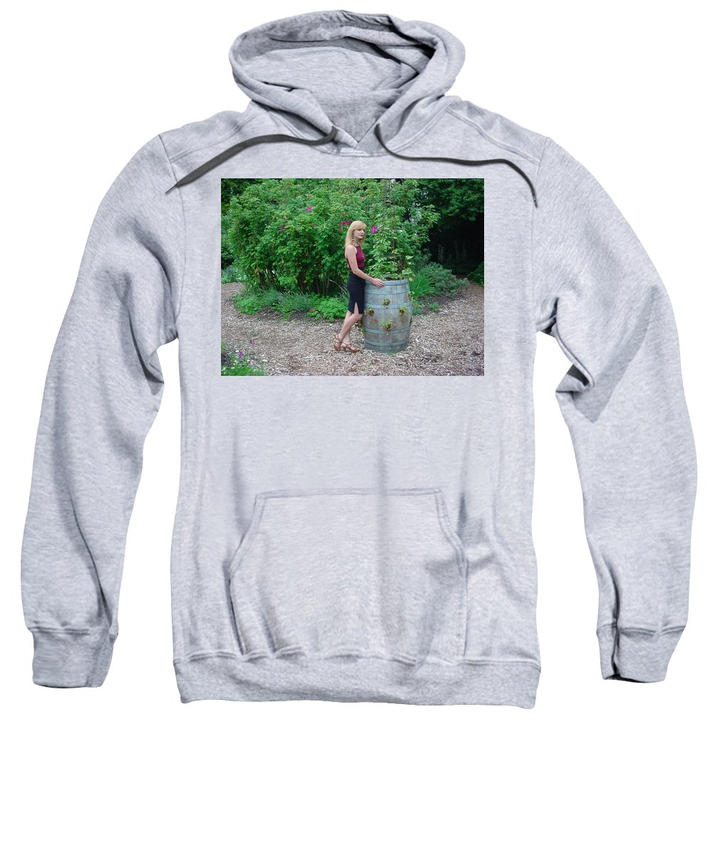Samantha Sweatshirt featuring the photograph 13 by Samantha Sanders