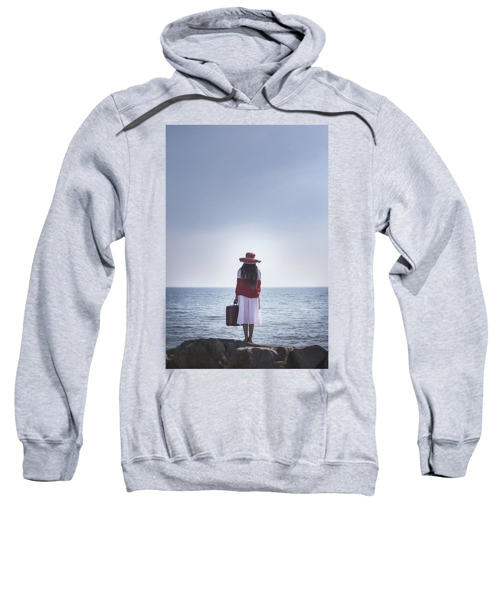 Girl Sweatshirt featuring the photograph Farewell by Joana Kruse