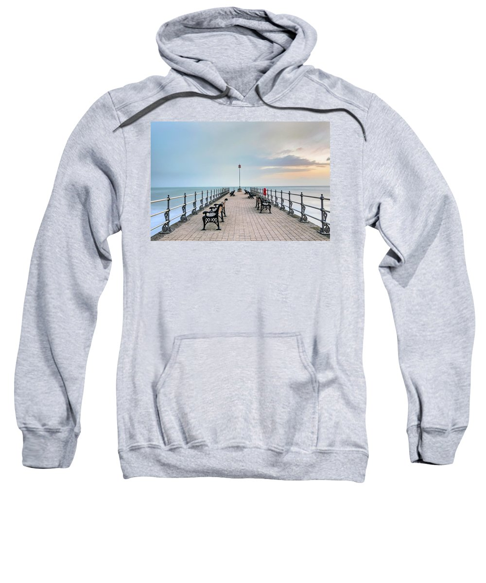 Swanage Sweatshirt featuring the photograph Swanage - England by Joana Kruse