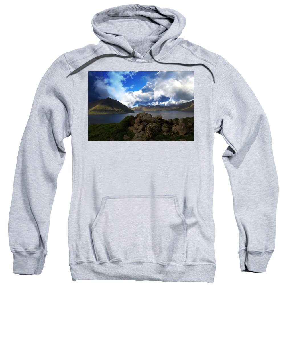 Air Sweatshirt featuring the photograph The Faroe Islands by Pol Hansen