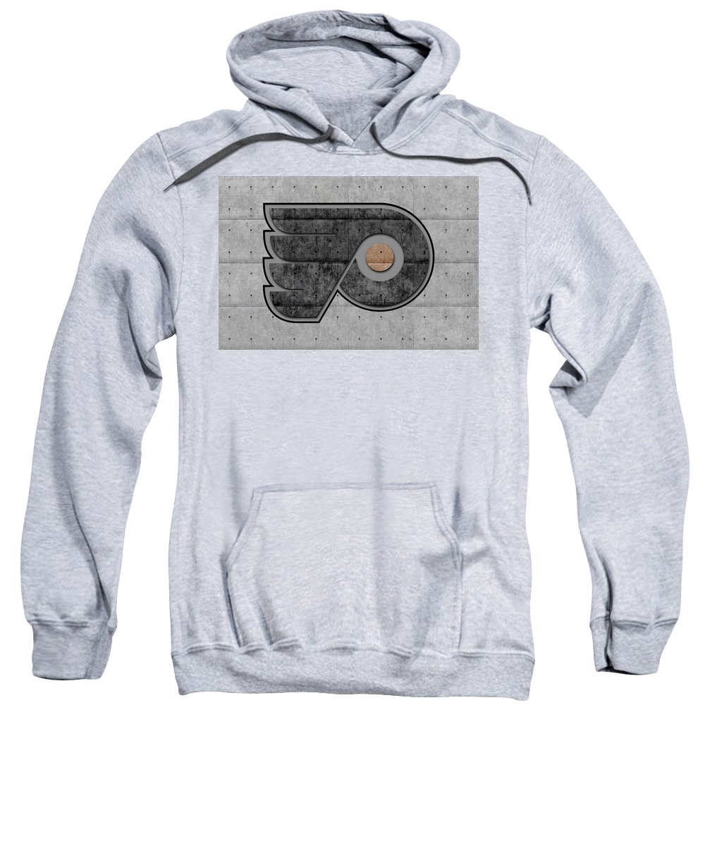 Flyers Sweatshirt featuring the photograph Philadelphia Flyers by Joe Hamilton