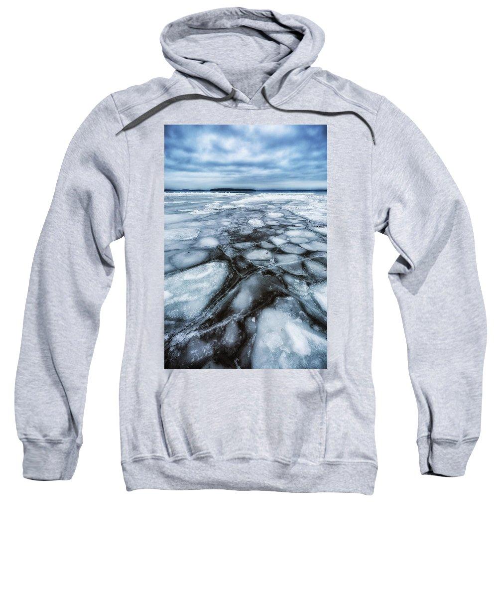 Canon Sweatshirt featuring the photograph Lake Winnipesaukee by Robert Clifford