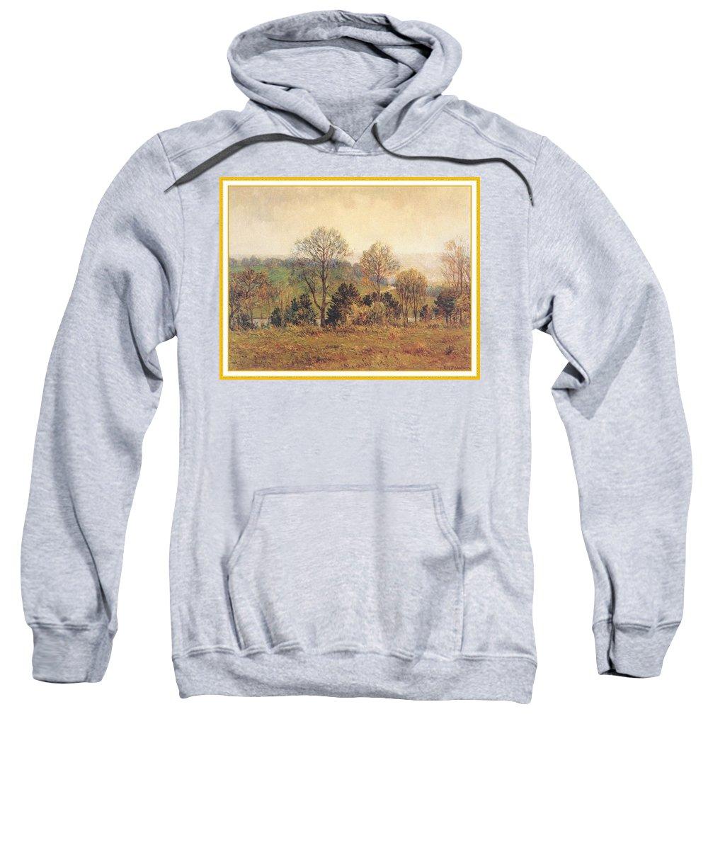 Tree Sweatshirt featuring the digital art Meakinlouishenry Edenpark-we Louis Henry Meakin by Eloisa Mannion