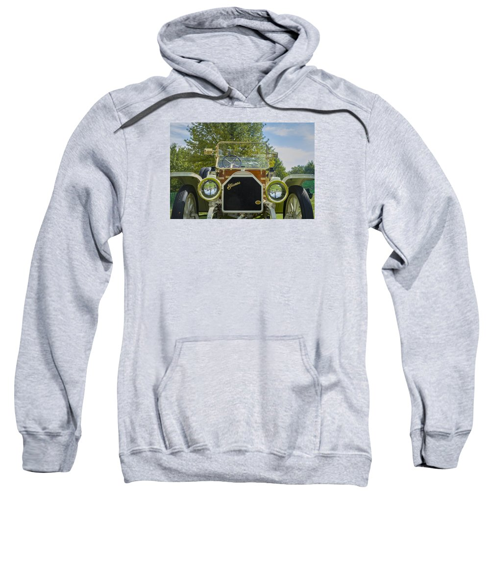 Antique Sweatshirt featuring the photograph 1911 Stearns by Jack R Perry