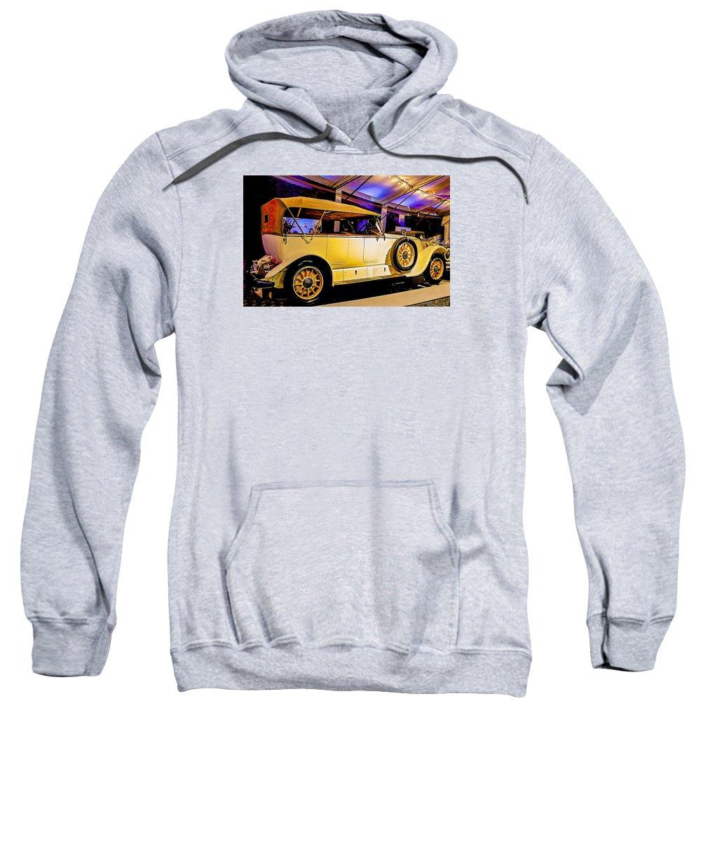 Car Sweatshirt featuring the photograph 1925 Renault 40cv Tourer by Barbara Zahno