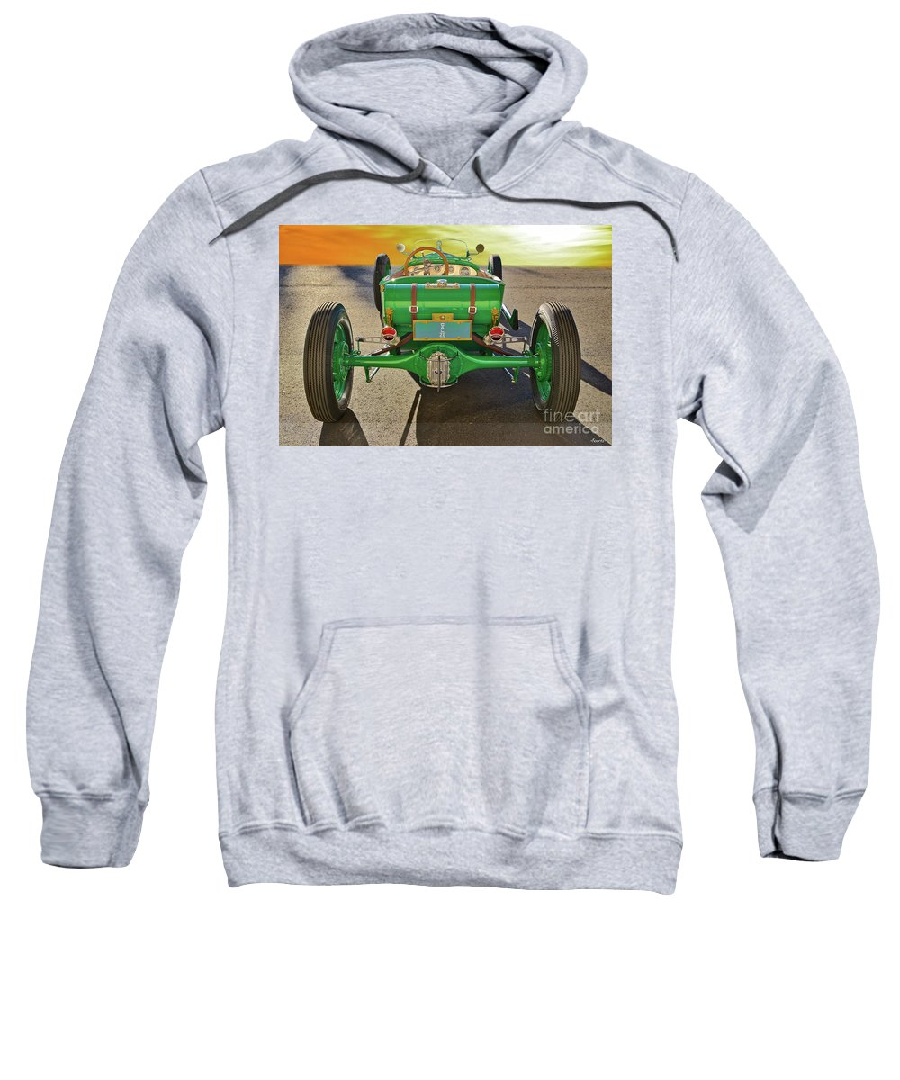 Auto Sweatshirt featuring the photograph 1926 Ford Model T 'dry Lakes' Roadster Vii by Dave Koontz