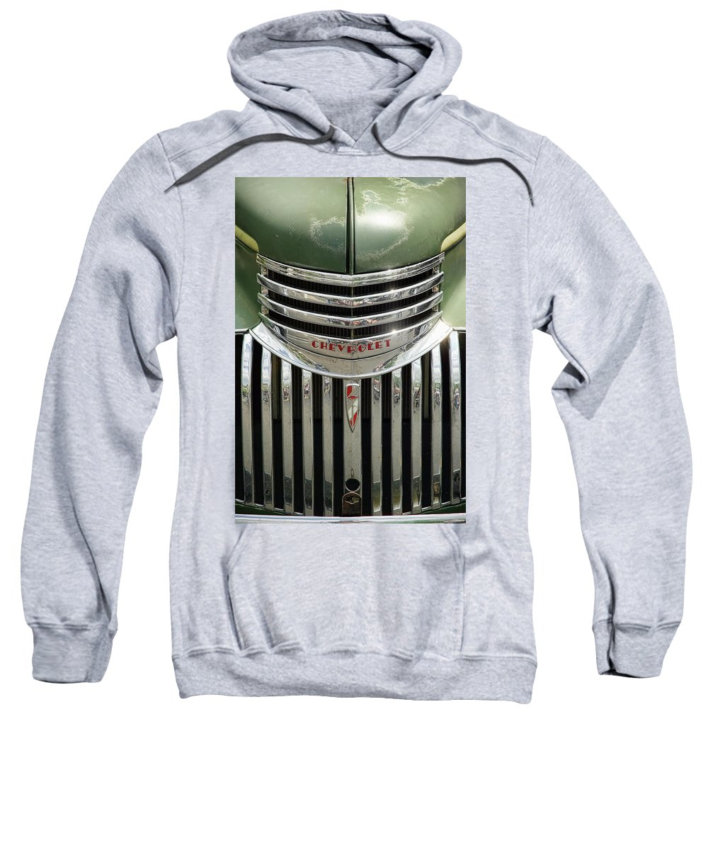 1946 Sweatshirt featuring the photograph 1946 Chevrolet Pick Up by Gordon Dean II