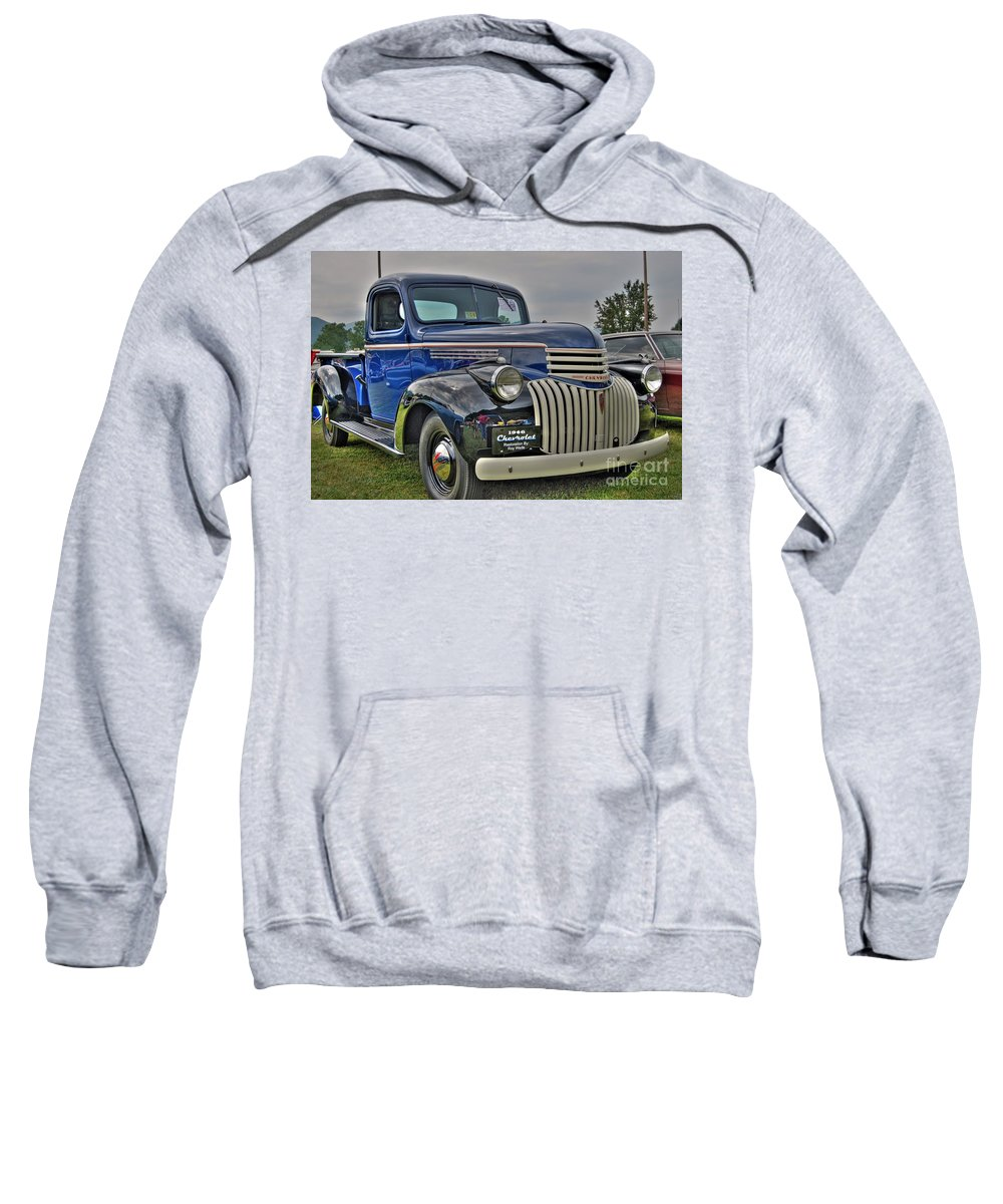 1946 Chevy Sweatshirt featuring the photograph 1946 Chevy by Todd Hostetter