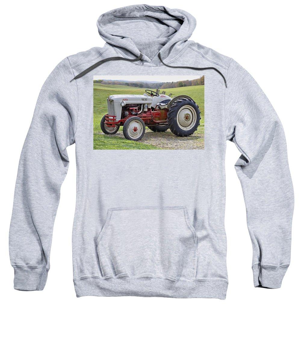 1953 Sweatshirt featuring the photograph 1953 Ford Golden Jubilee Naa by Debra and Dave Vanderlaan