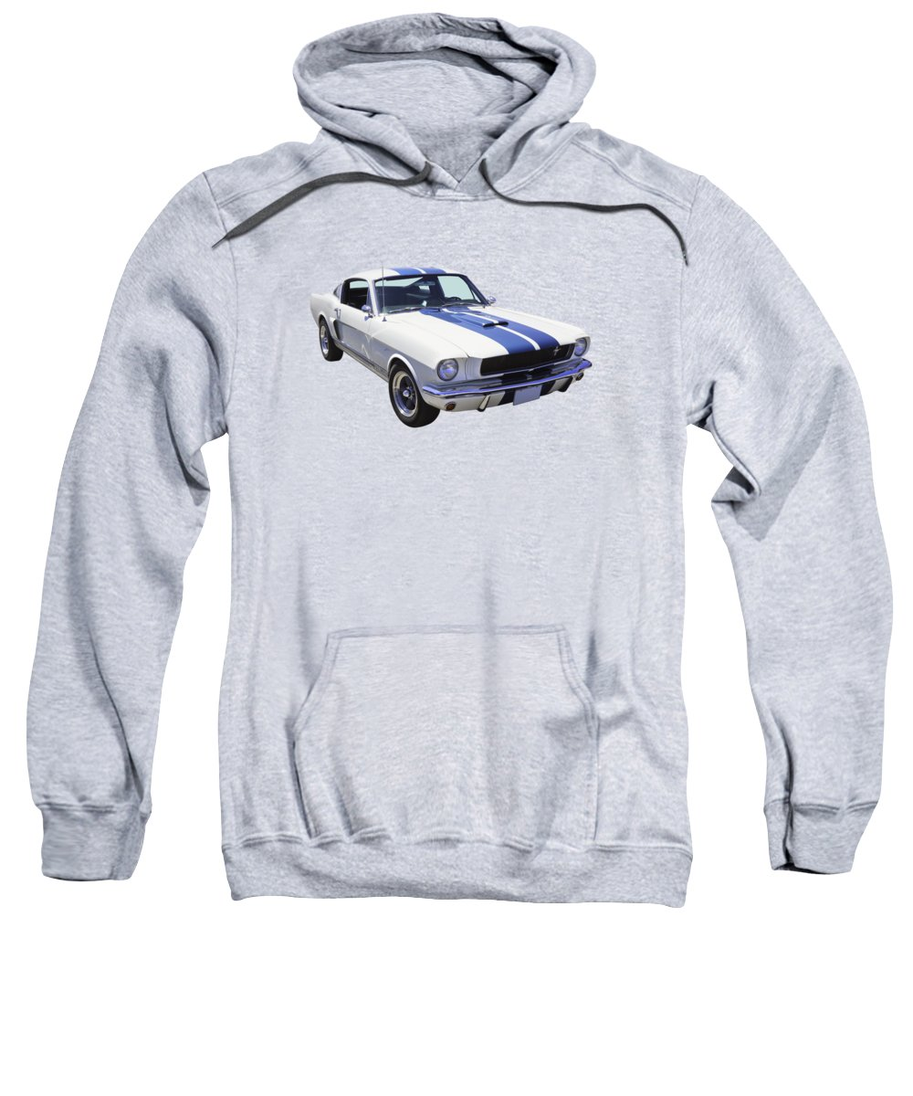 Car Sweatshirt featuring the photograph 1965 Gt350 Mustang Muscle Car by Keith Webber Jr