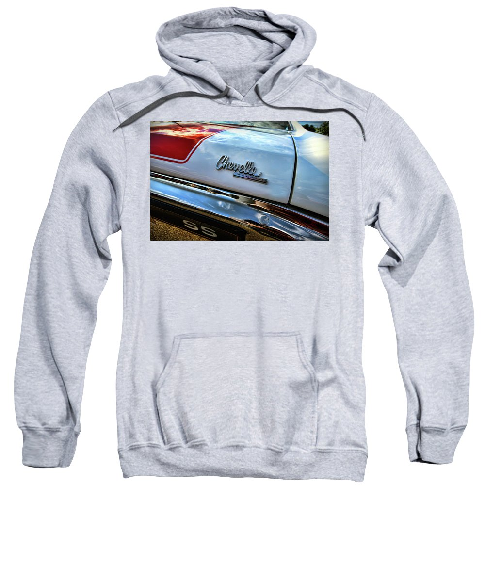 1970 Sweatshirt featuring the photograph 1970 Chevy Chevelle Ss 396 Ss396 by Gordon Dean II