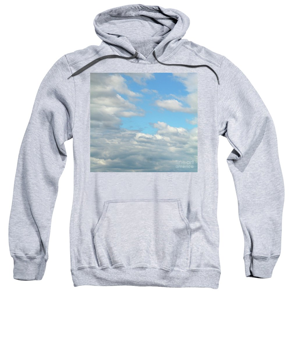 Blue Sweatshirt featuring the photograph Blue Sky by Kristen Pagliaro
