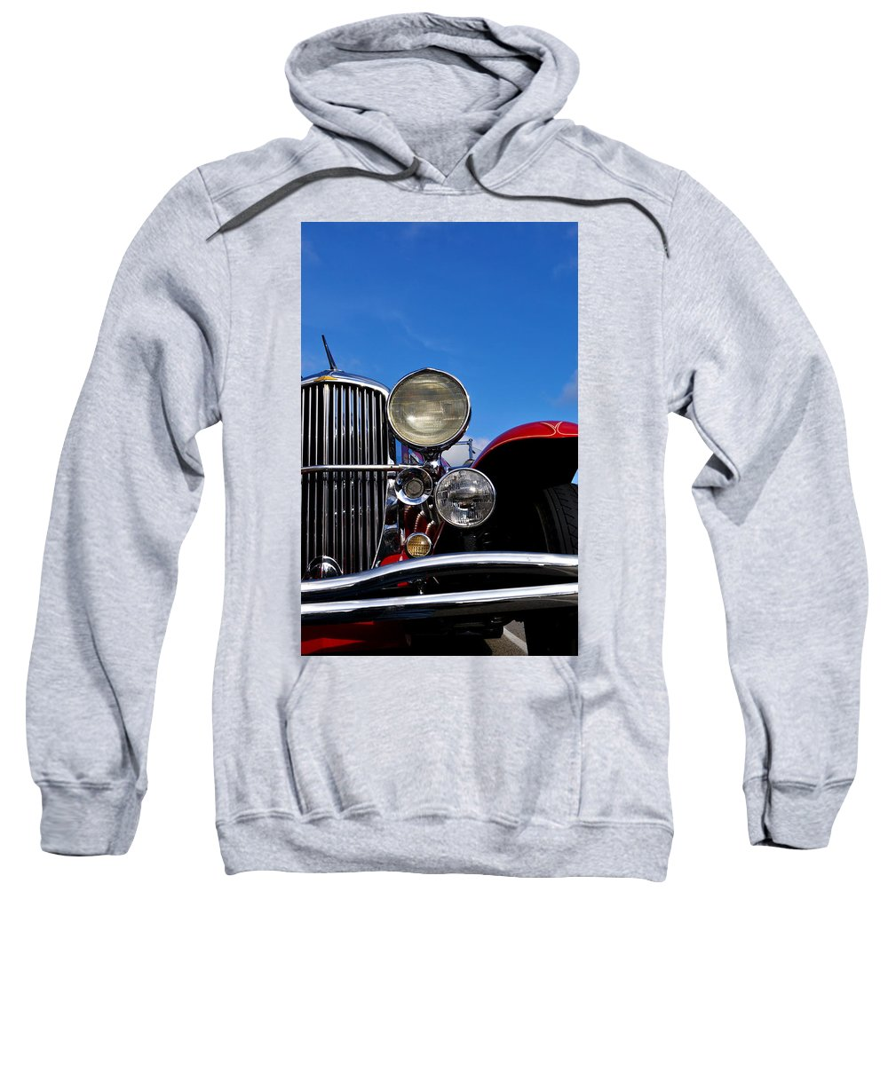 Vintage Sweatshirt featuring the photograph Duesenberg by Tim Nyberg