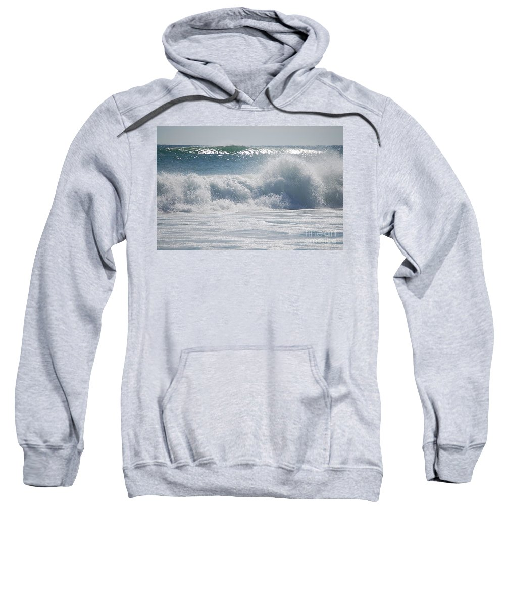 Gulf Of Mexico Sweatshirt featuring the photograph Gulf Of Mexico by Lucy Bounds