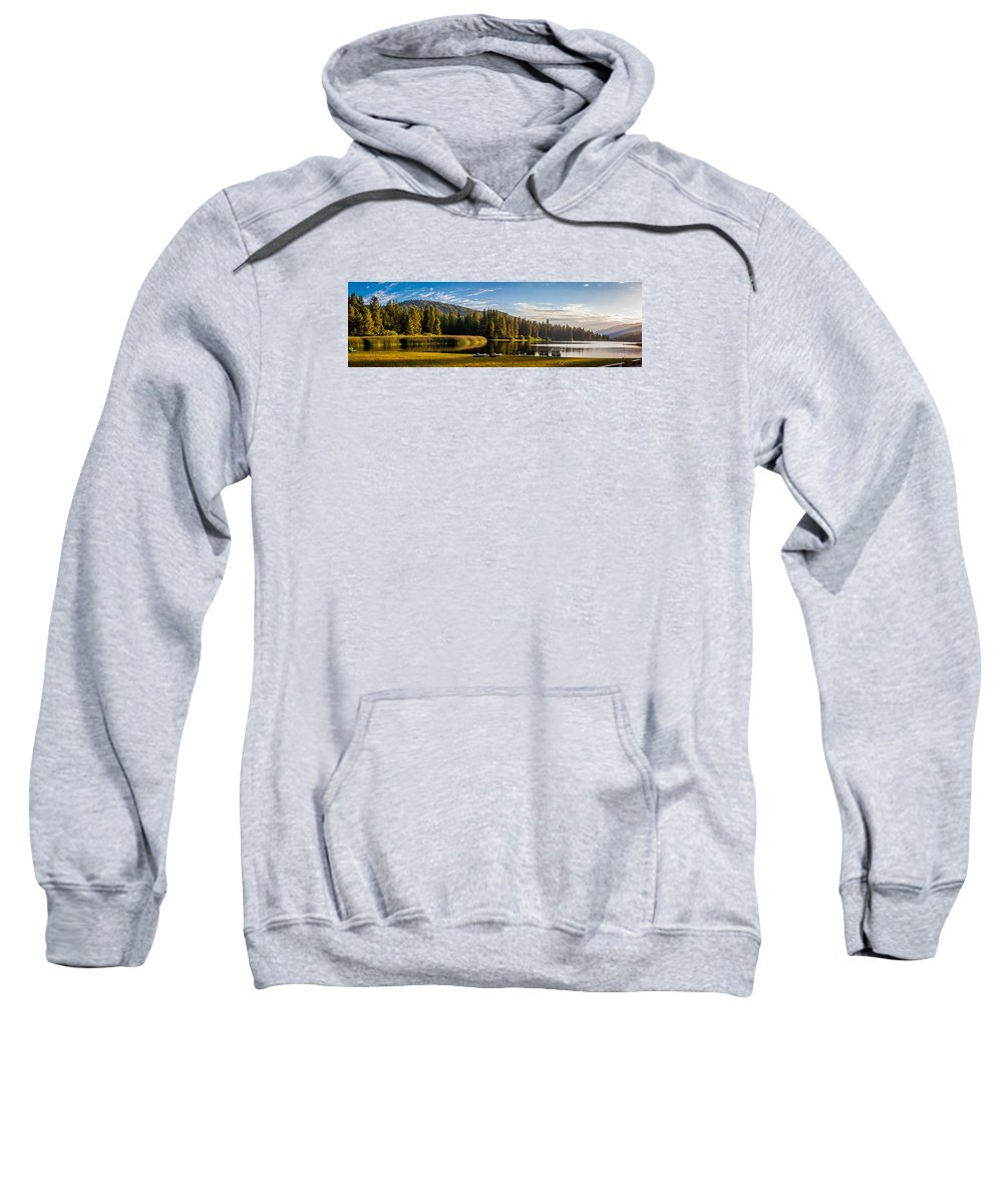 Landscape Sweatshirt featuring the photograph Hume Lake by David Barile