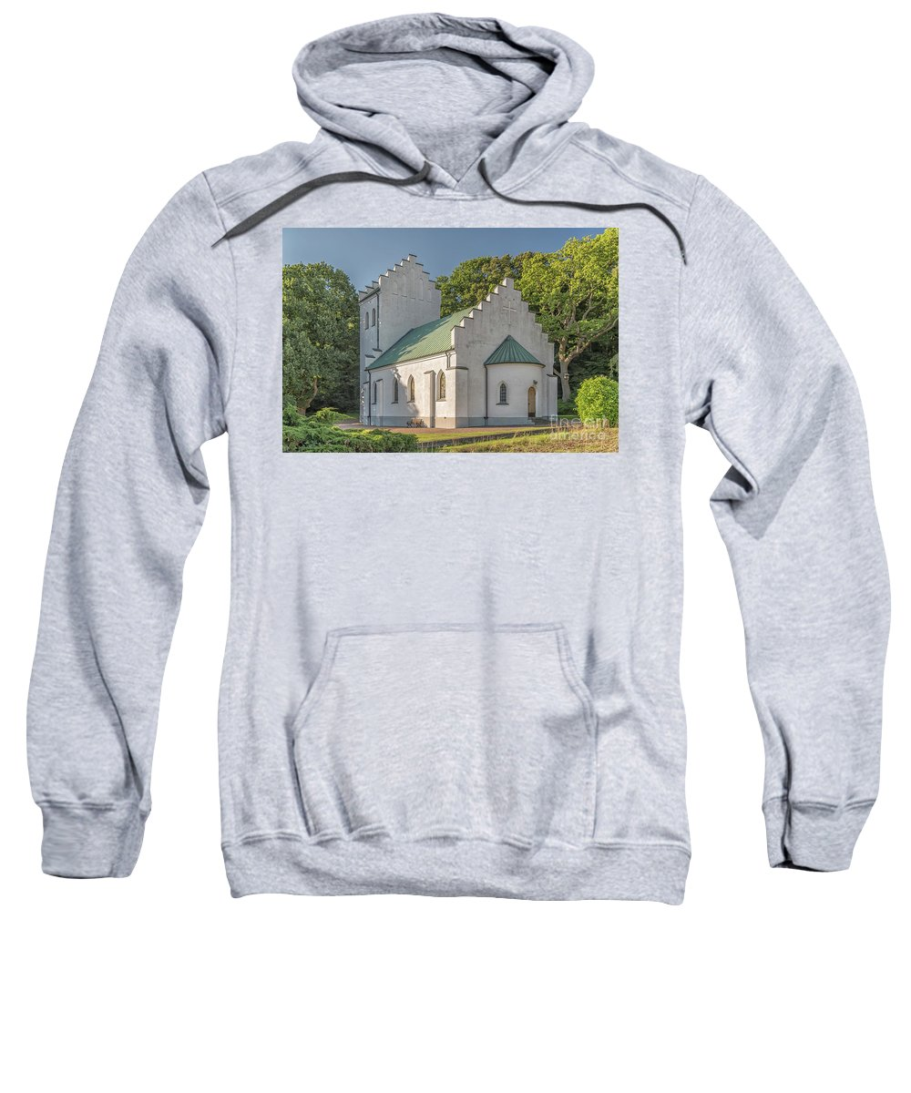 Molle Sweatshirt featuring the photograph Molle Chapel by Antony McAulay