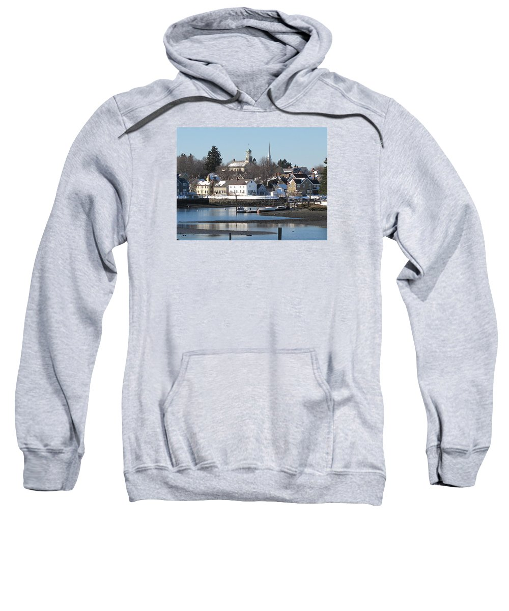Sweatshirt featuring the photograph Portsmouth, New Hampshire by John Rodgers