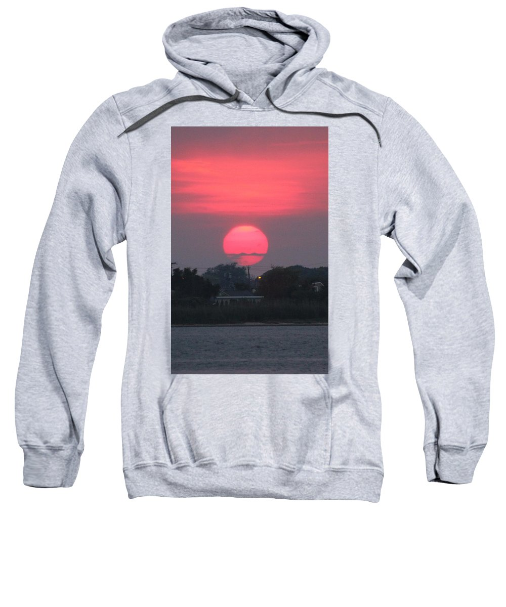 Sweatshirt featuring the photograph Sunset by Dara Buckley