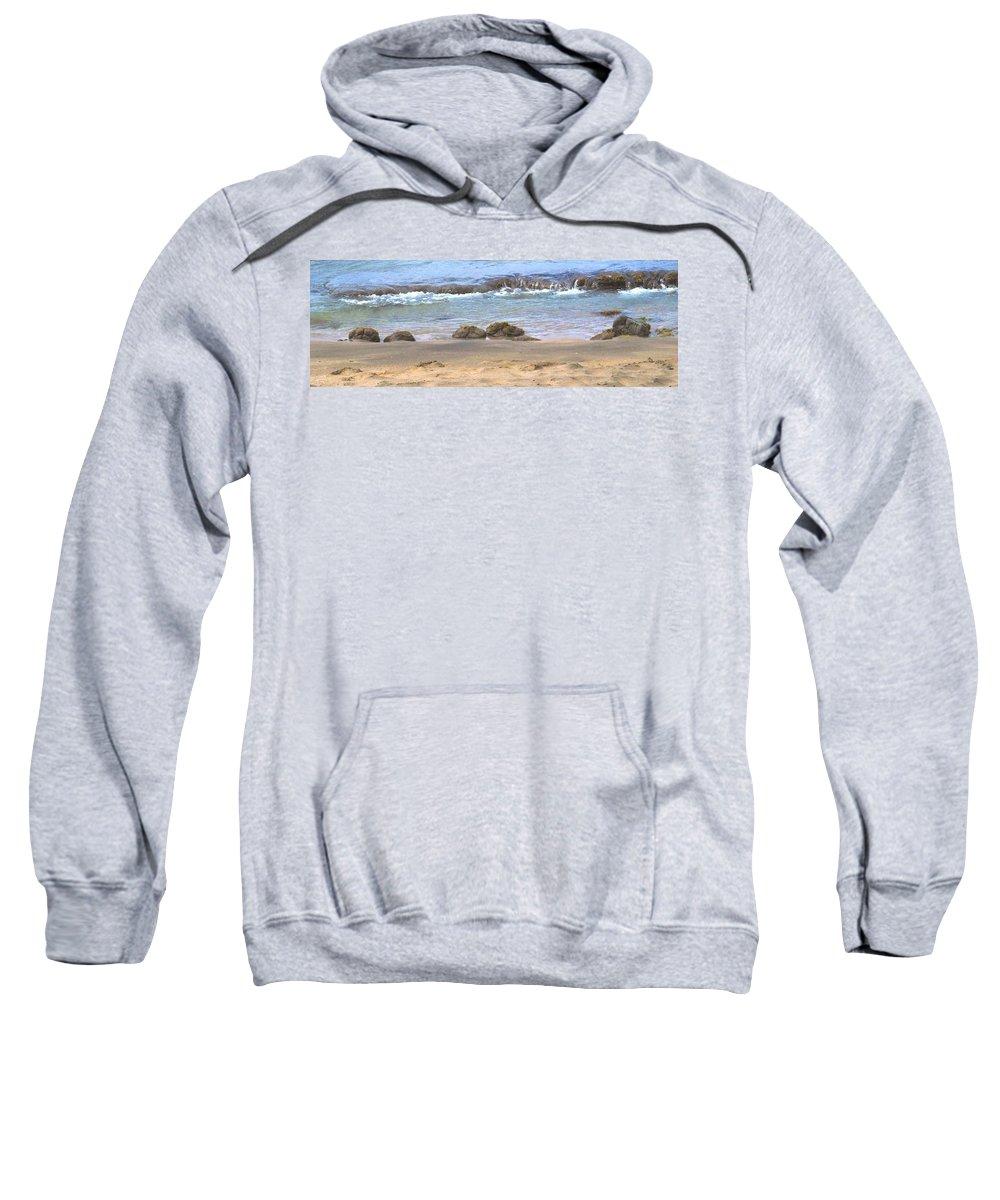 Ocean Sweatshirt featuring the photograph Tidal Pool by Ian MacDonald