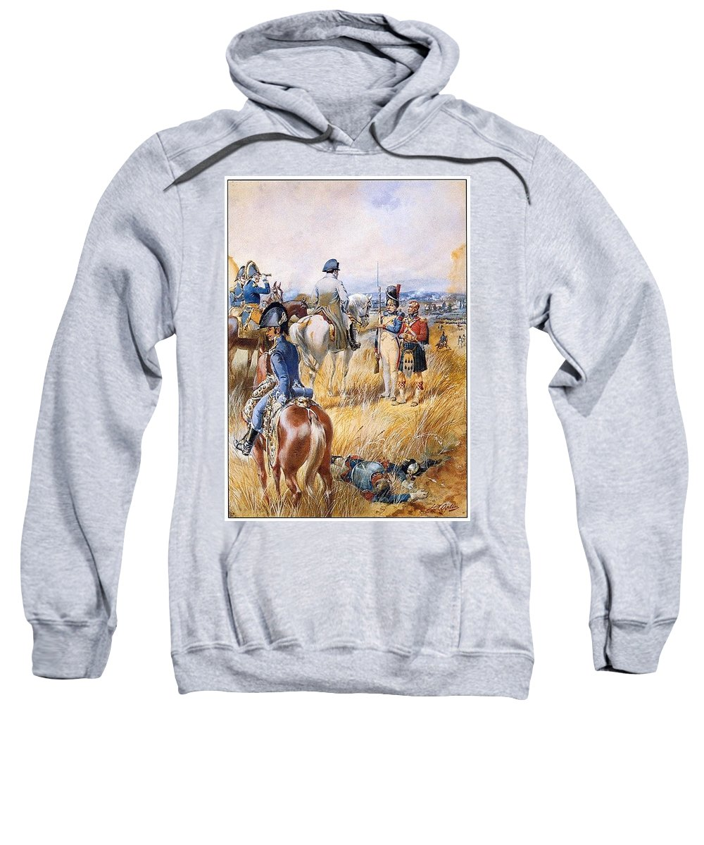 Chandelier Sweatshirt featuring the digital art p-iaa2 Henry A Ogden Henry Alexander Ogden by Eloisa Mannion