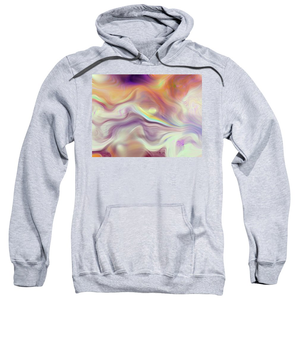 Abstract Sweatshirt featuring the photograph Abstract by Galeria Trompiz