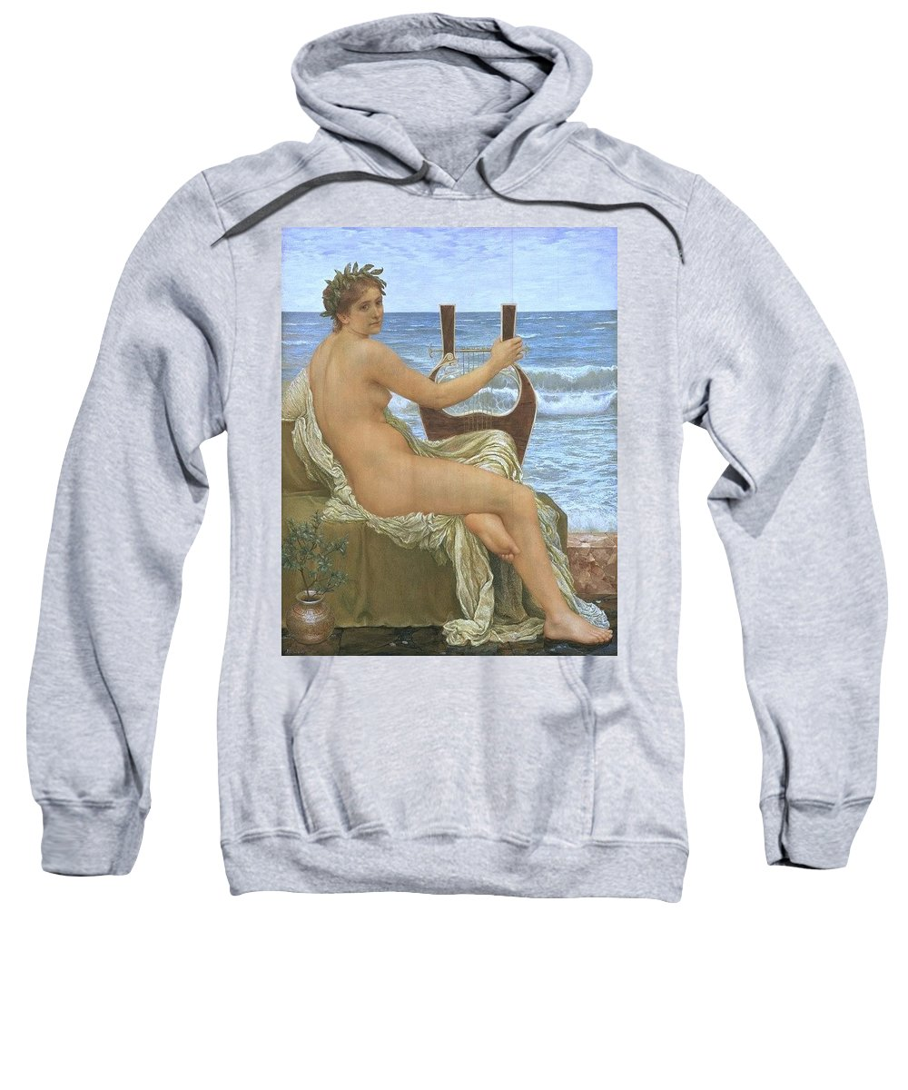 Maillot Sweatshirt featuring the digital art 31065 Henry Holiday by Eloisa Mannion
