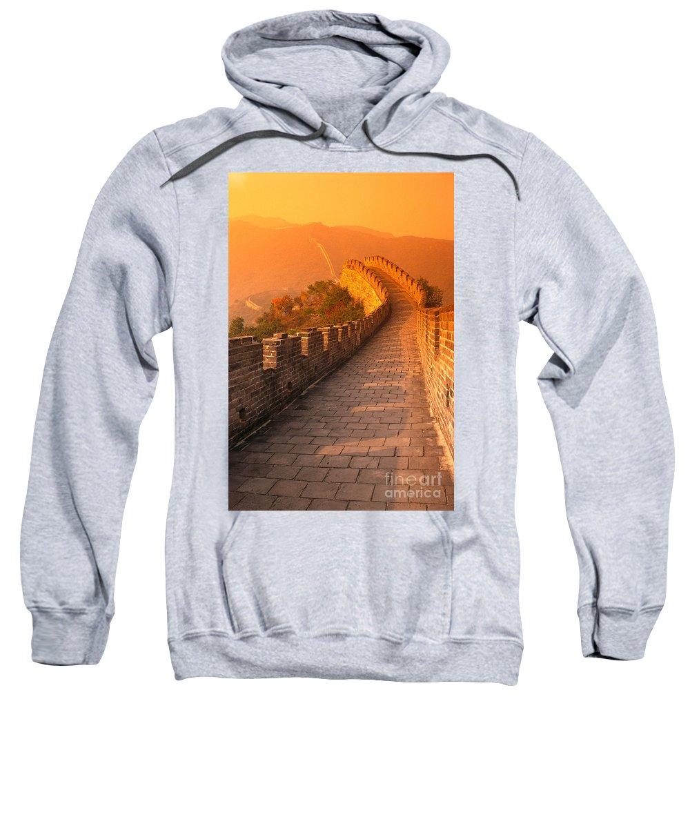 Asian Art Sweatshirt featuring the photograph China, Mu Tian Yu by Gloria & Richard Maschmeyer - Printscapes