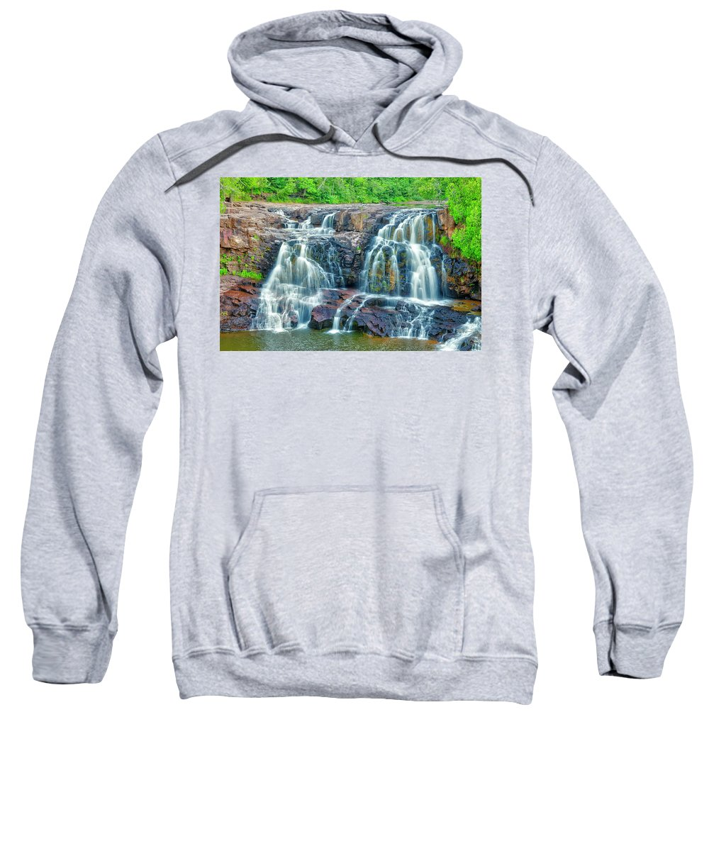 Americas Sweatshirt featuring the photograph Early Morning At The Upper Falls by Roderick Bley