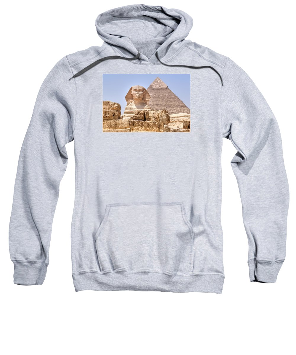 Pyramid Of Khafre Hooded Sweatshirts T-Shirts
